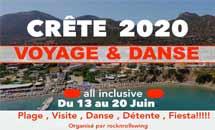 Crête du 13 au 20 juin 2020