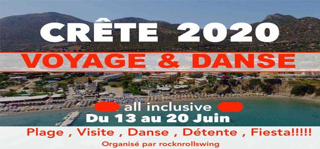 Voyage danse en Crête du 13 au 20 juin!!
